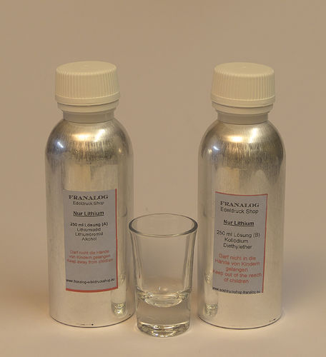 ALL LITHIUM COLLODION  500 ML  (2 X 250 ML)