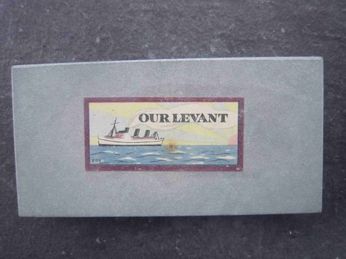 Levant Whetstone 5.5 x 2.7'' with label