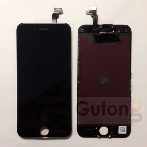 iPhone 6 LCD Display Touchscreen Schwarz / weiss