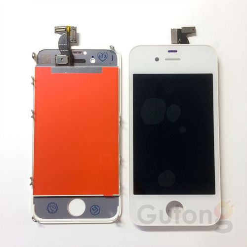 iPhone 4G LCD Display Touchscreen Weiss