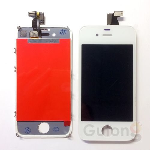 iPhone 4S LCD Display Touchscreen Weiss / Schwarz