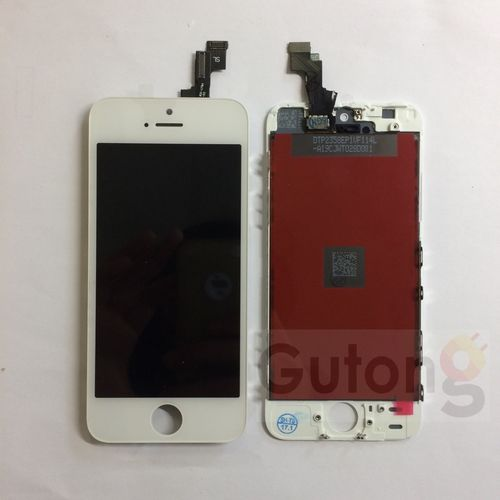 iPhone 5S LCD Display Touchscreen Weiss