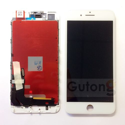 iPhone 8 Plus LCD Display Touchscreen Weiss
