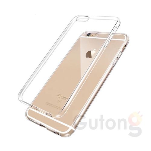 iPhone 6 / 6S TPU Schutz Hülle Ultradünn transparent