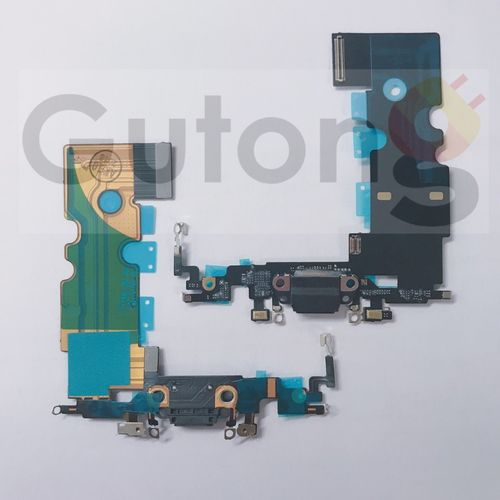 iPhone 8 Dock Connector Flex Ladebuchse schwarz