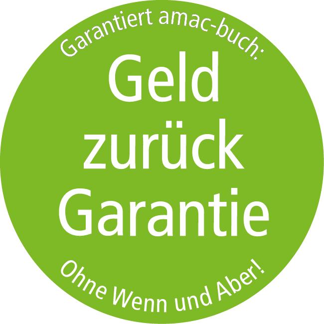Geld zurück Garantie!