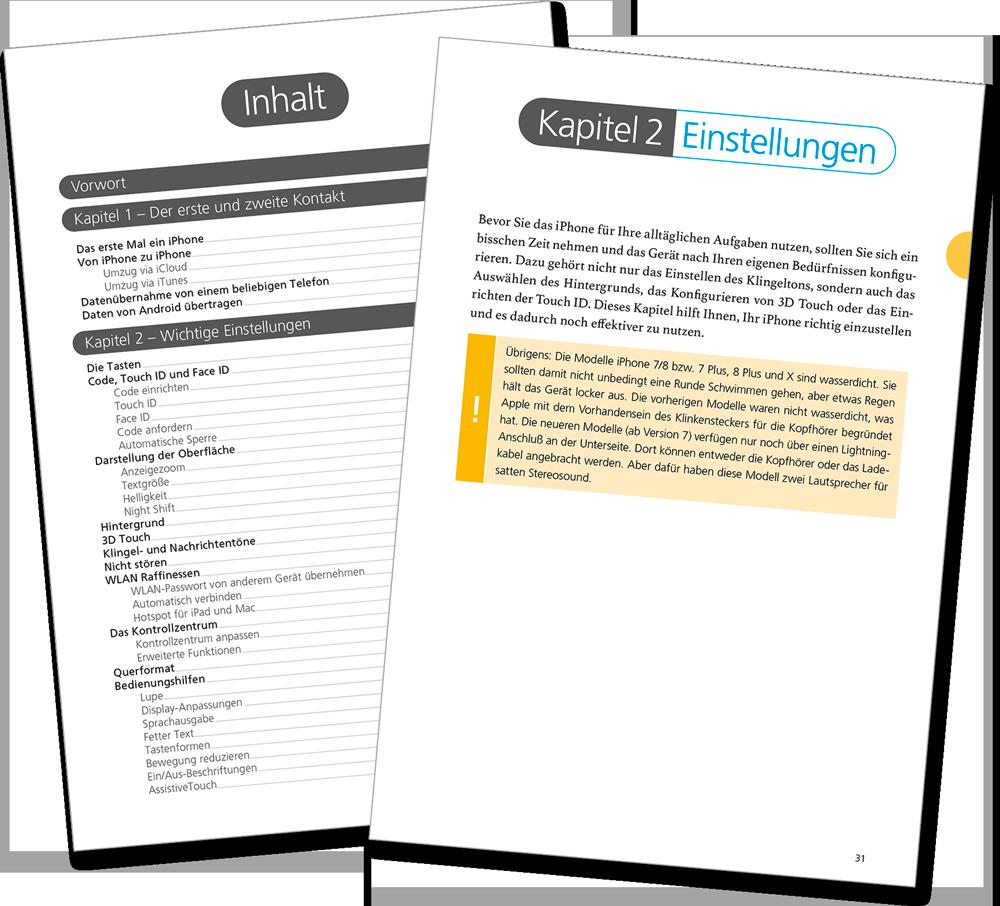 Leseprobe - iPhone iOS 11 Handbuch
