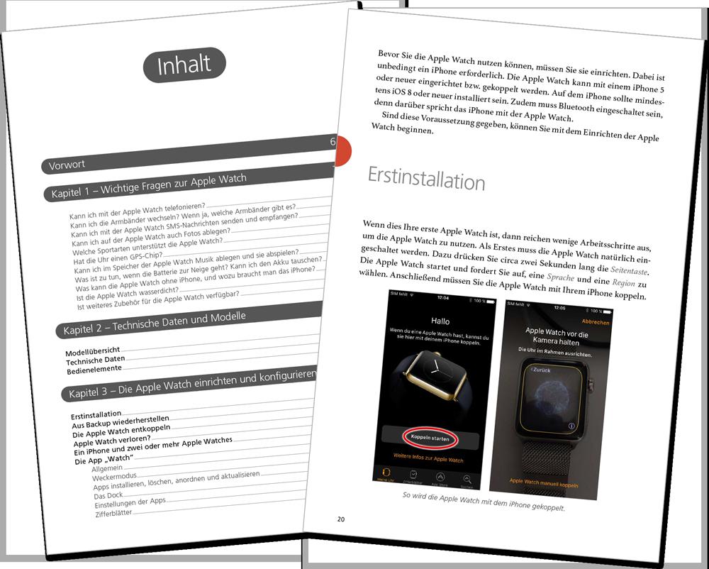 Leseprobe - Apple Watch watchOS 3 Handbuch