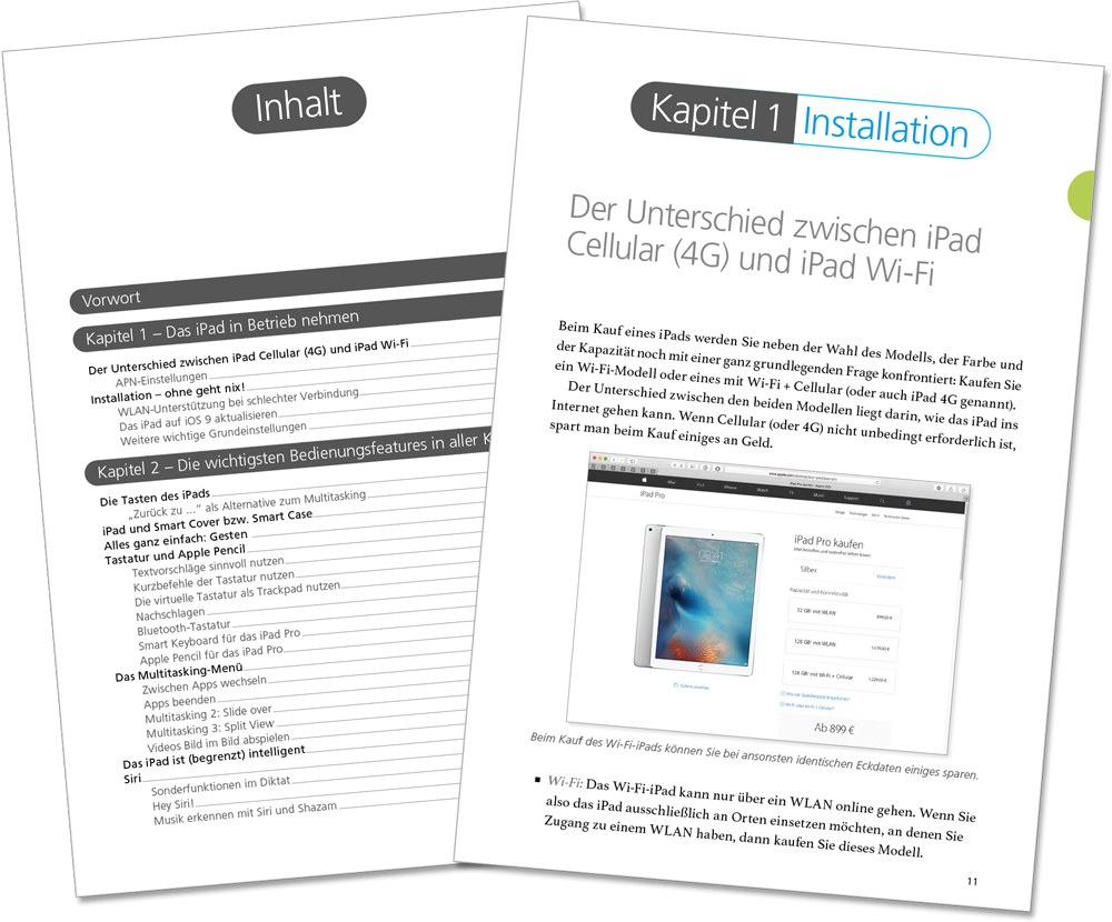 Leseprobe - iPad Pro Handbuch