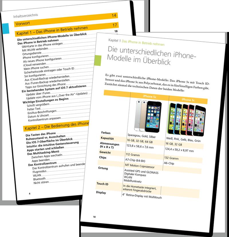 Leseprobe - Mein iPhone für iPhone 5s und 5c