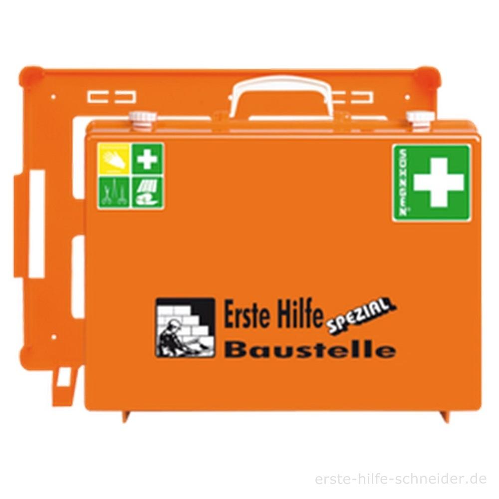 Erste Hilfe Koffer Spezial Ö-NORM, Baustelle