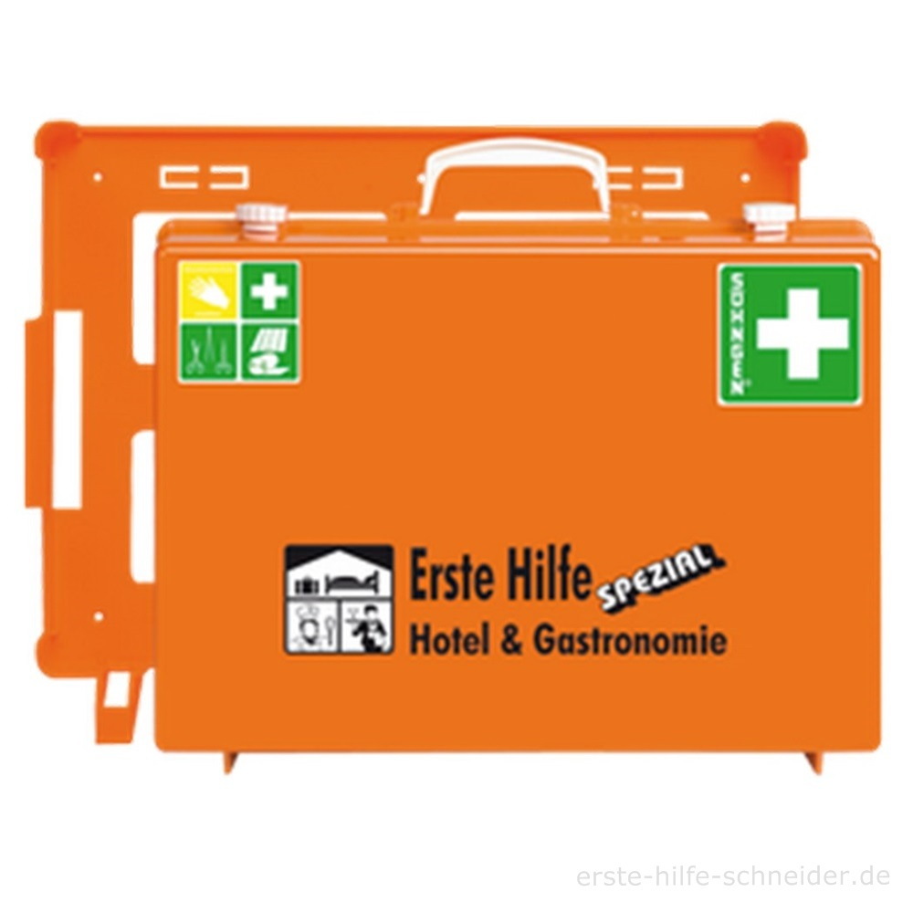 Erste Hilfe Koffer Spezial Ö-NORM Hotel + Gastronomie