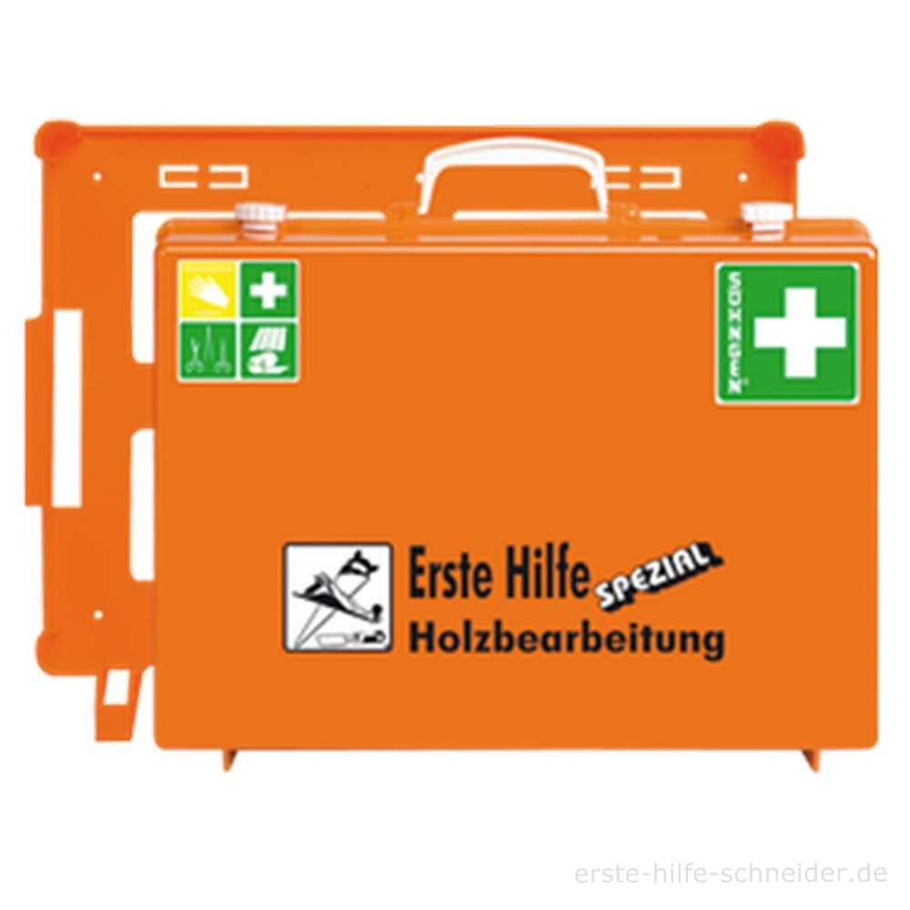 Erste Hilfe Koffer Spezial Ö-NORM Holzbearbeitung