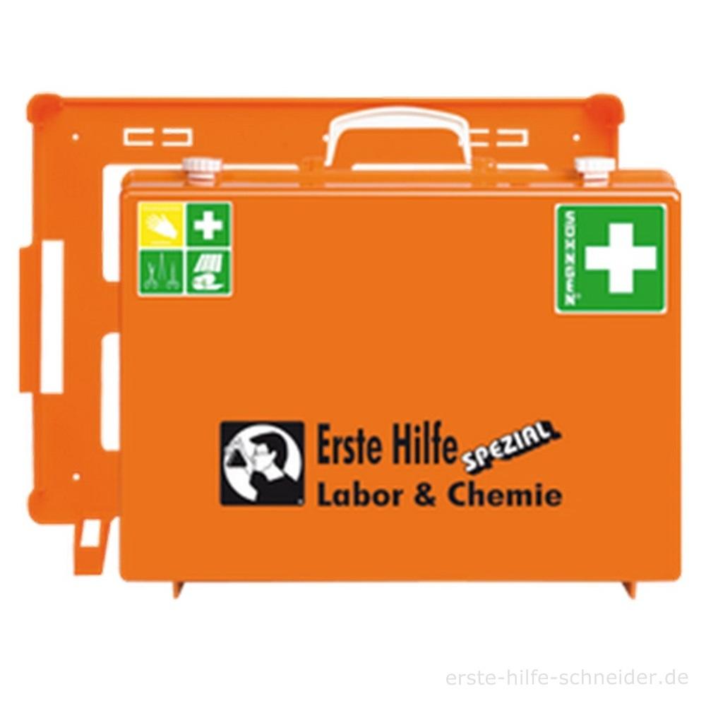 Erste Hilfe Koffer Spezial Ö-NORM, Labor + Chemie