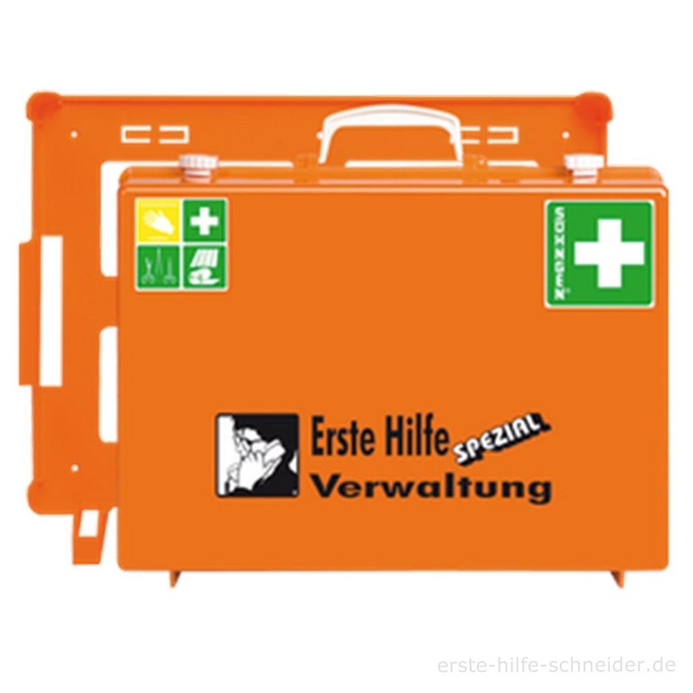 Erste Hilfe Koffer Spezial Ö-NORM, Verwaltung
