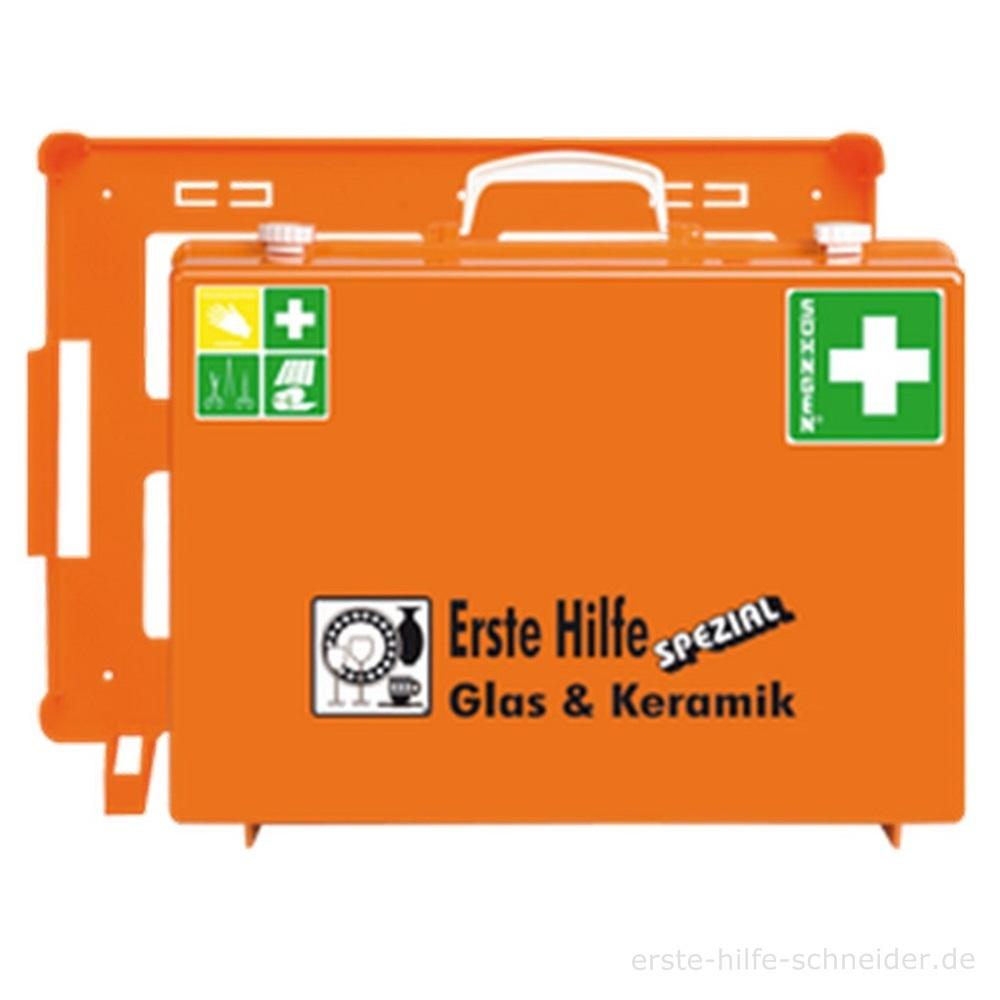 Erste Hilfe Koffer Spezial Ö-NORM, Glas + Keramik