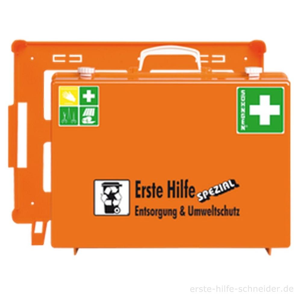 Erste Hilfe Koffer Spezial Ö-NORM, Entsorgung + Umwelt