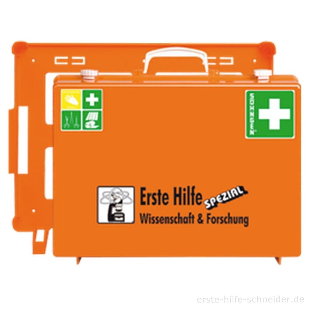 Erste Hilfe Koffer Spezial Ö-NORM, Wissenschaft