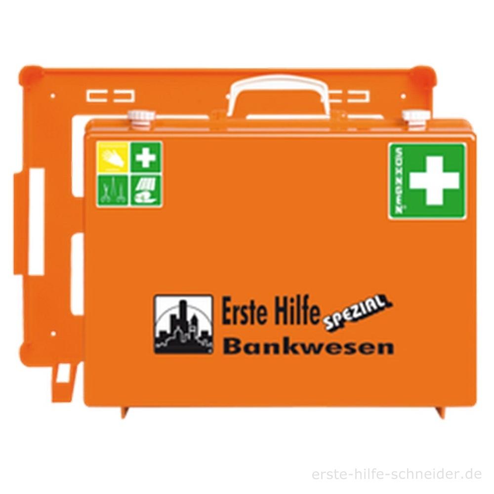 Erste Hilfe Koffer Spezial Ö-NORM, Bankwesen