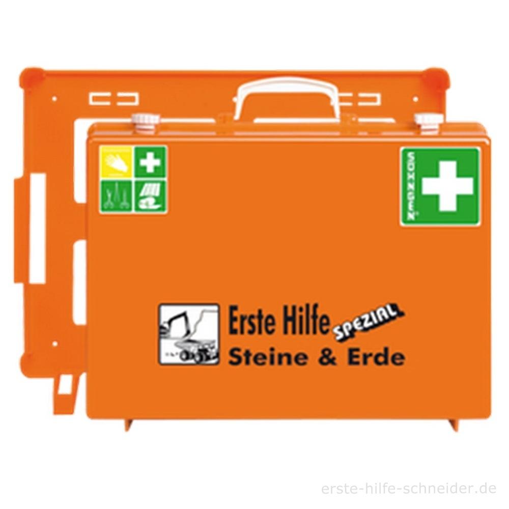 Erste Hilfe Koffer Spezial Ö-NORM, Steine + Erden