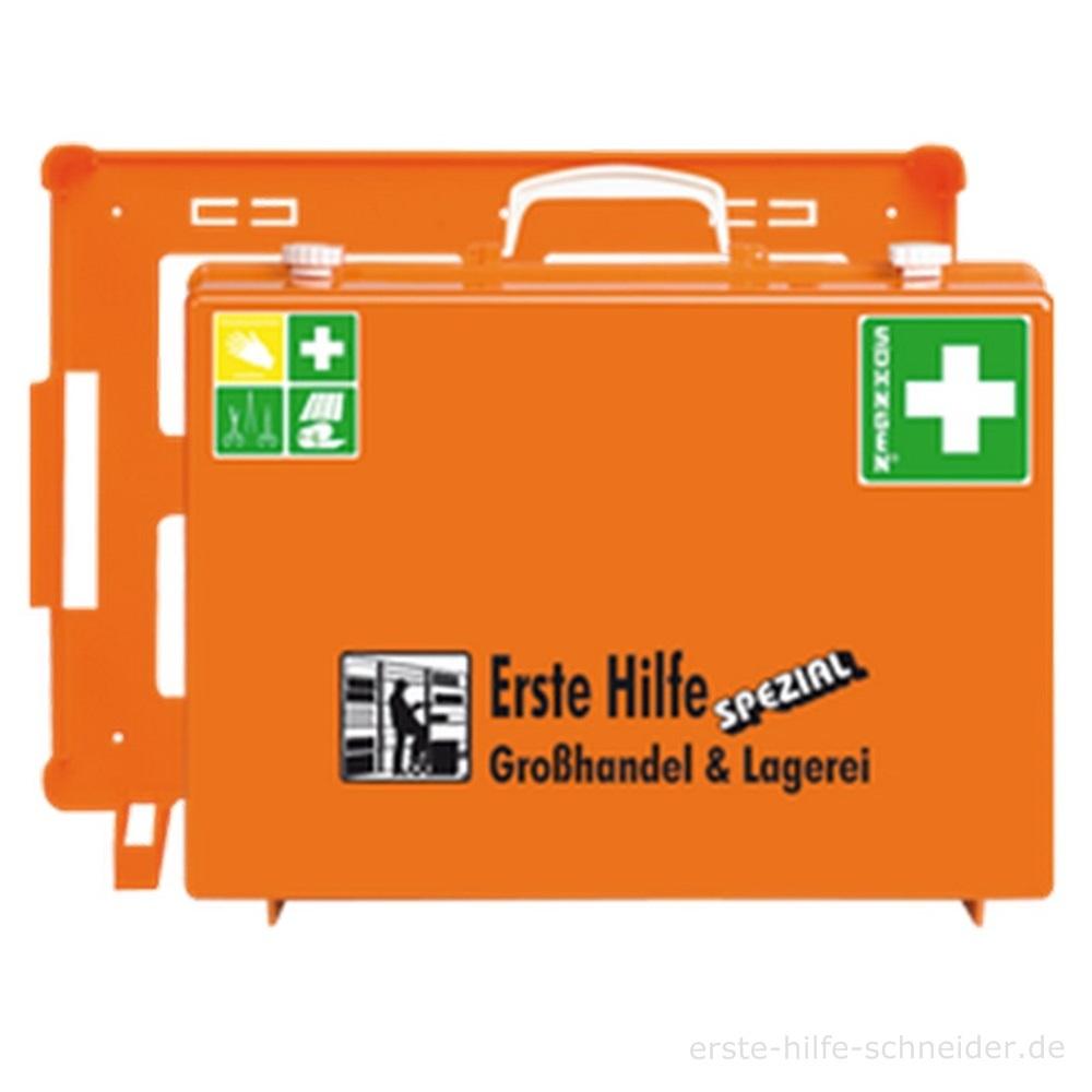 Erste Hilfe Koffer Spezial Ö-NORM, Großhandel Lagerei
