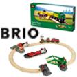 zu den BRIO Holzeisenbahnen und Zubehör