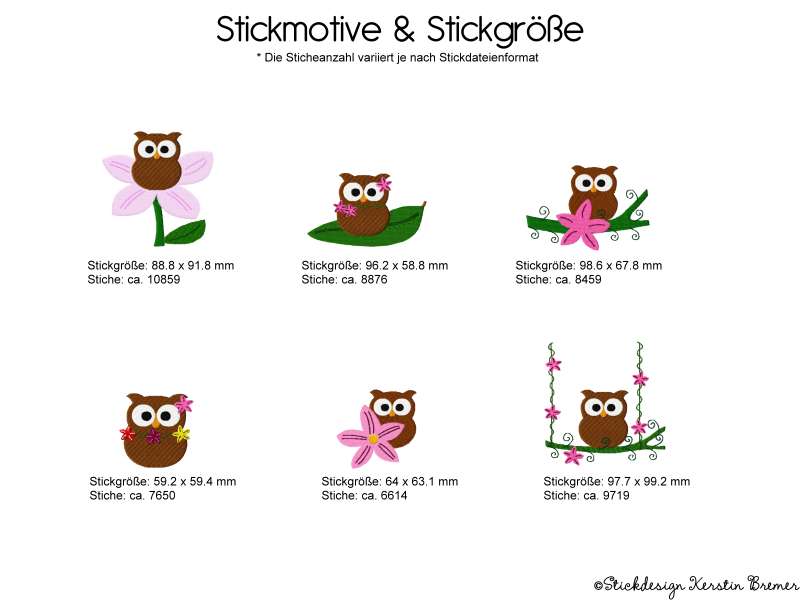 stickgroesse