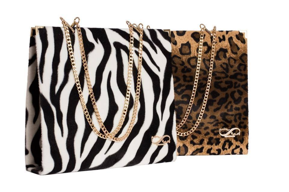 Zebra & Leopard Folder Bag