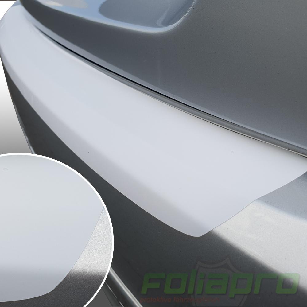 LADEKANTENSCHUTZ Lackschutzfolie für AUDI A3 8P Cabrio ab 2008 grau glänzend