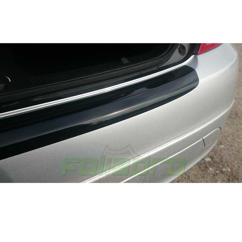 LADEKANTENSCHUTZ Lackschutzfolie für MERCEDES E-Klasse W212 Lim schwarz glänzend
