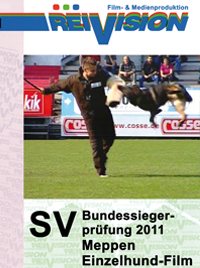 SV-Bundessiegerprüfung 2011 - Meppen - Single Dog