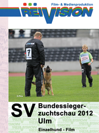 SV-Bundessiegerzuchtschau 2012 - Ulm - Individual Dog - Movie