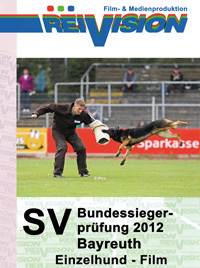 SV-Bundessiegerprüfung 2012 - Bayreuth - Single Dog - Movie