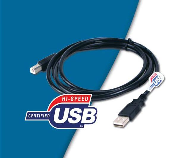 D-Link USB 2.0 A/B cable 15ft 4,50m