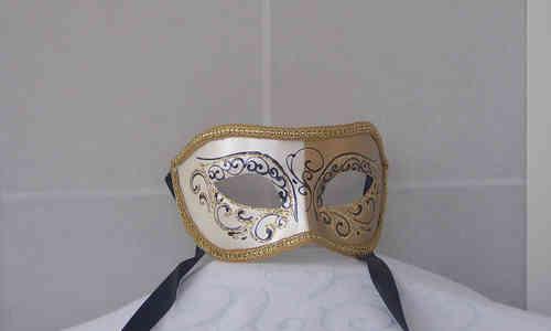 Venezianische Colombinamaske