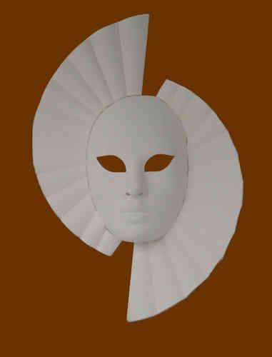 Venetian Donna raw mask