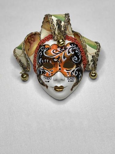 Venezianische Deko-Wandmaske Jolly
