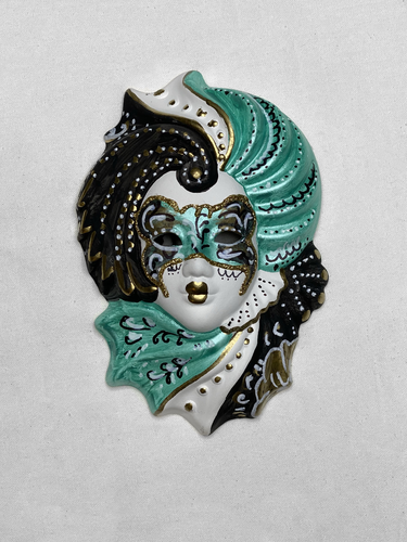 "Venetian decorative wall mask ""Giada"" S"