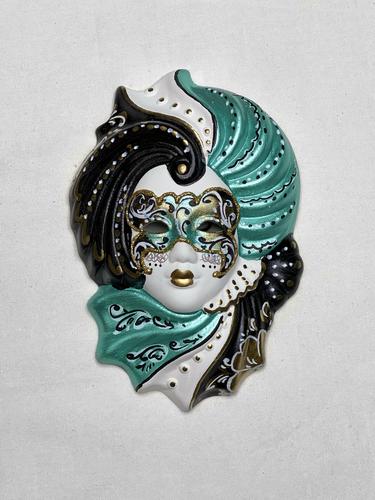 """Venezianische Deko-Wandmaske """"Giada"""" S"""