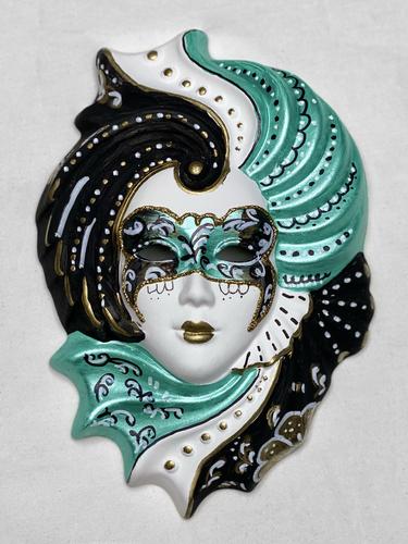 "Masque vénitien mural décoratif ""Giada"" M"