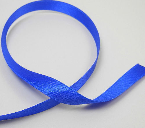 Satinband 10 mm blau