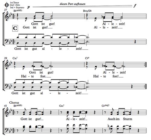 Gott ist gut - Hanjo Gäbler - Chornoten zum Download