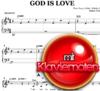 God is love von Hanjo Gäbler - Klaviernoten zum Download