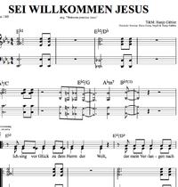 Sei willkommen Jesus- Klaviernoten zum Download