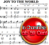Joy to the world - Sheetmusic for Piano and choir