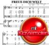 Freue Dich Welt - Pianosheet