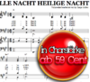 Stille Nacht - Klaviernoten zum Download