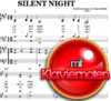 Silent night - Klaviernoten zum Download