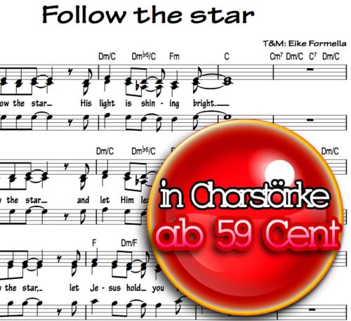 Follow the Star - Chornoten zum Download