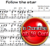 Follow the star - Sheet Music for Download